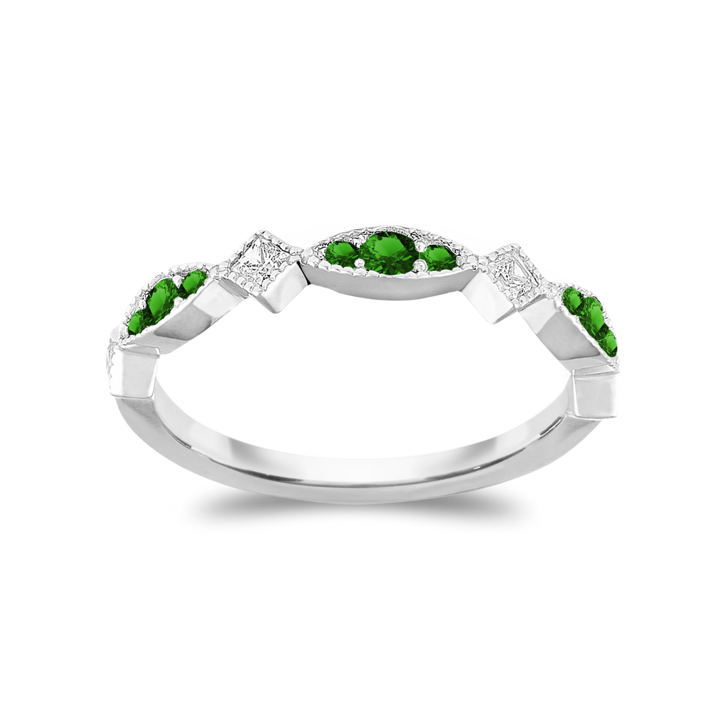 The Trendsetter - Natural Green Tsavorite