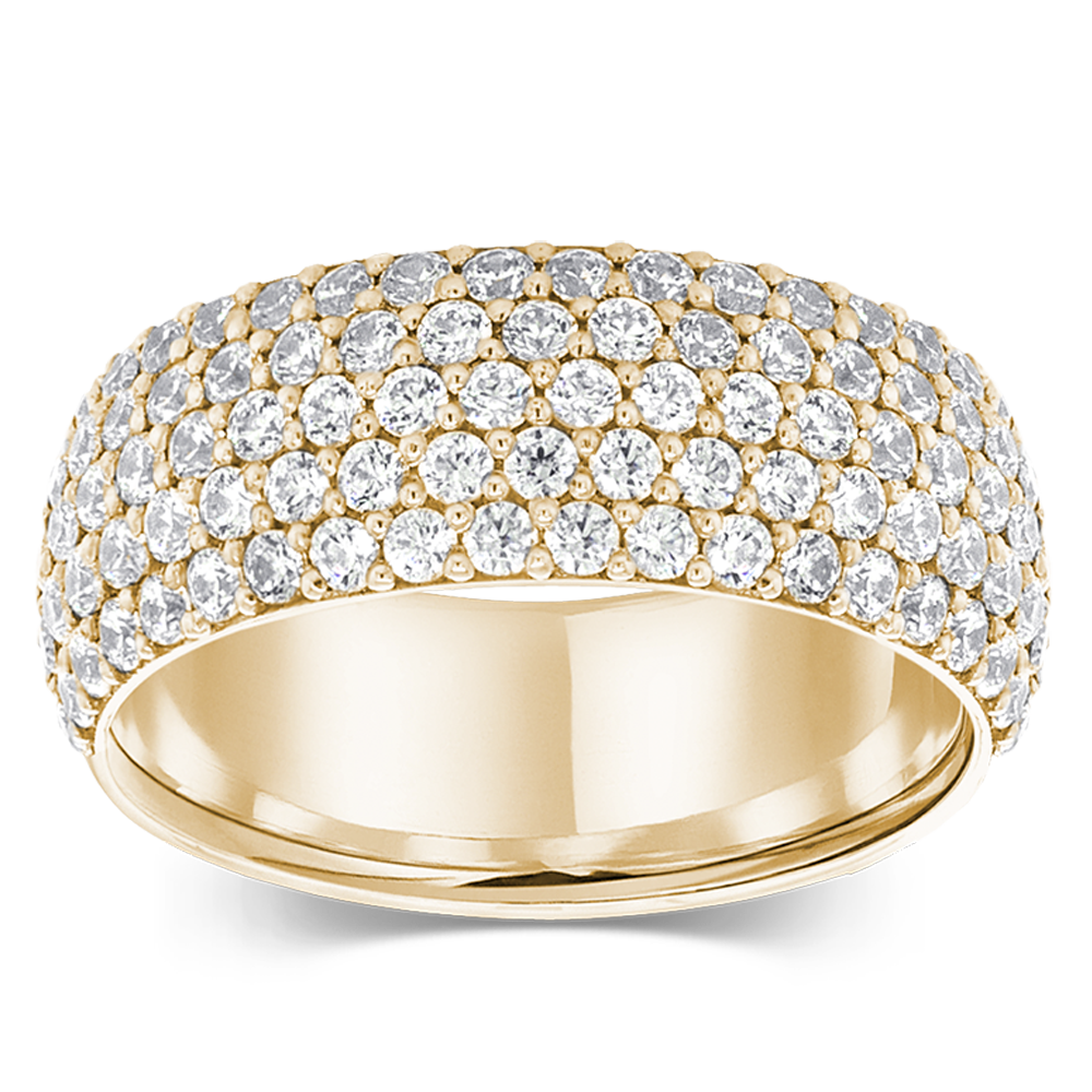 The Visionary - 14K Yellow Gold / Lab Grown White Diamonds