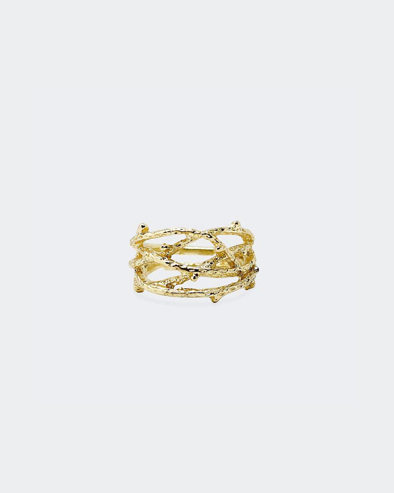 CHRIST CROWN RING GOLD