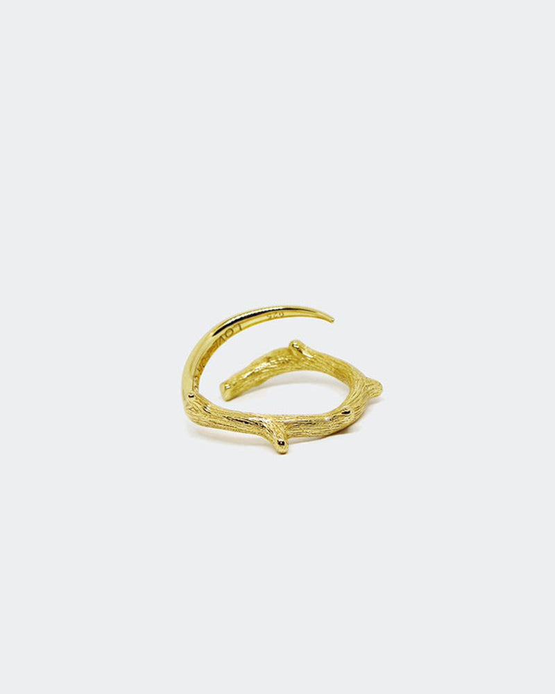 24CT THORN TWIG RING