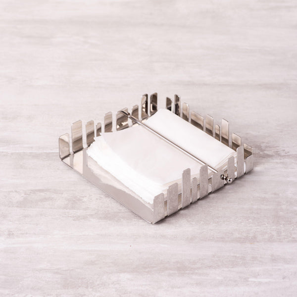 Urban Napkin Holder - ( Cocktail & Lunch ) in Stainless Steel By Arttdinox