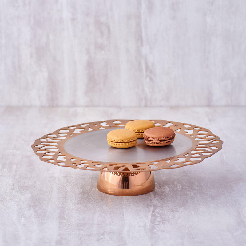 Burano Cookie Platter PVD ( Small & LARGE ) in Stainless Steel by Arttdinox