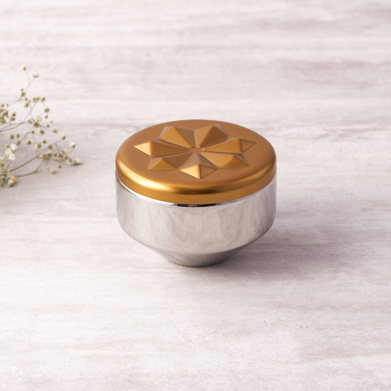 Aladdin ( Golden & Rose Gold ) Jar in Stainless Steel By Arttdinox