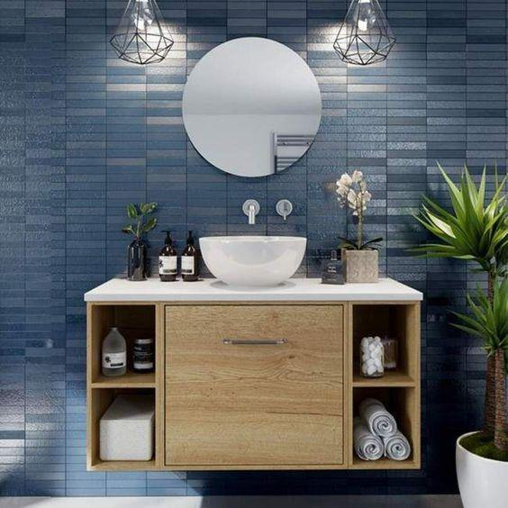Bathroom Multilayer Vanity For Over The Counter Washbasin By Glitzz