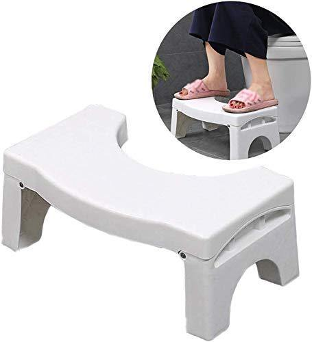 Comfortable Foldable Non slippy Squat Potty Toilet Stool For Constipation