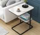 Creative side table living room small tea table iron frame coffee table