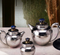 Royal Lapiz Tea Set in 304 Grade Stainless Steel by Arttdinox