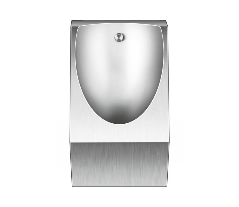 Clair Satin Finish Urinal, Stainless Steel in 304 Grade by Nirali