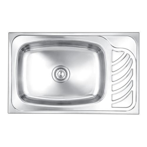 Nirali Eureka Single Bowl Kitchen Sink in Stainless Steel 304 Grade