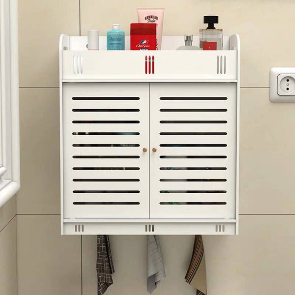 Wall Mounted PVC Bathroom Storage Cabinet [38]