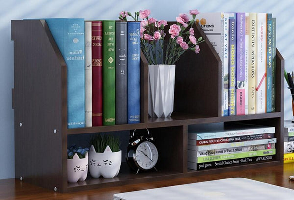 Portable Bookshelf For Table Tops or Wall Hanging By Glitzz