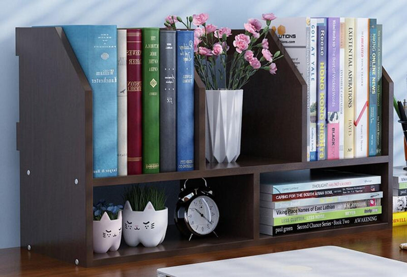 Portable Bookshelf For Table Tops or Wall Hanging