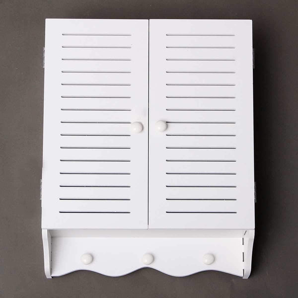 Bathroom WK Wall Mounted PVC Storage Cabinet  Furniture For Bathroom & Toilet Essential