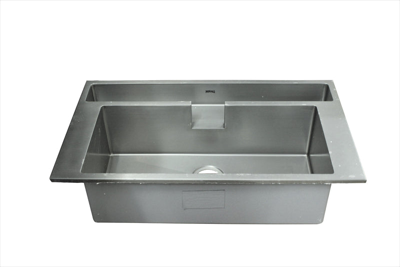 Nirali Era Satin Finish Kitchen Sink in Stainless Steel 304 Grade