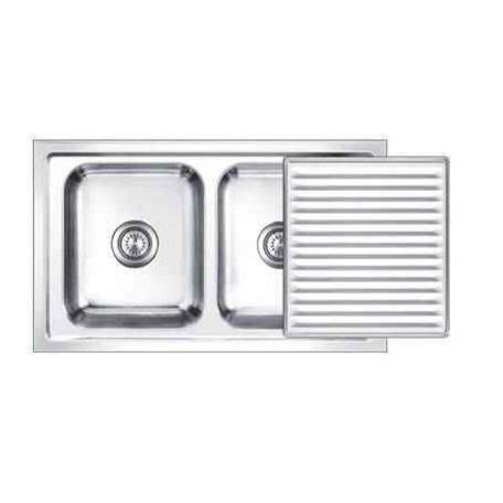 Nirali Super Slider Kitchen Sink in Stainless Steel 304 Grade