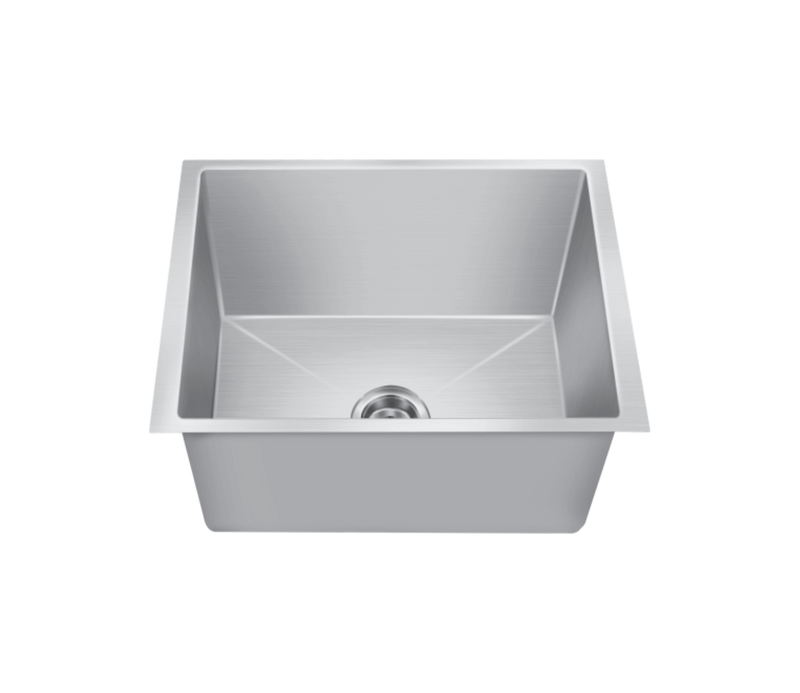 Nirali Maxell Single Bowl Kitchen Sink in Stainless Steel 304 Grade