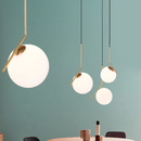 Modern Led Pendant Round Ball Lights