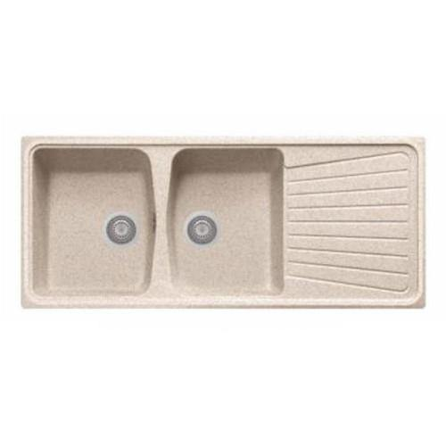 Nirali Kappa LV-2 Kitchen Sink in Quartz