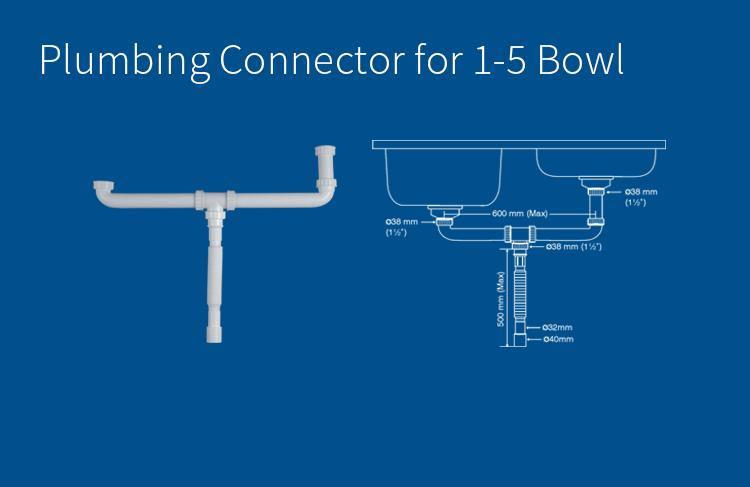Nirali Flexible Plumbing Connector ( For One & Half Bowl )