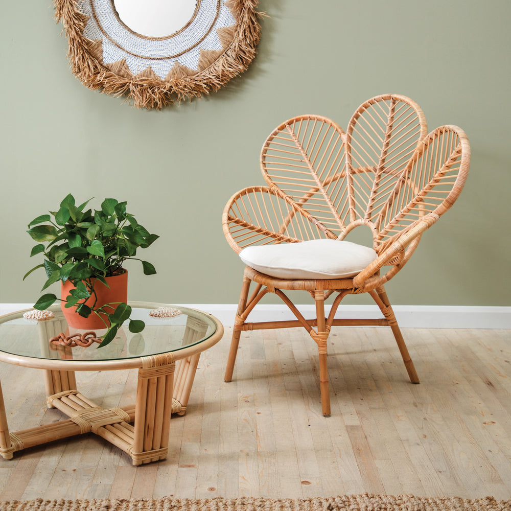 DAHLIA FLOWER CHAIR