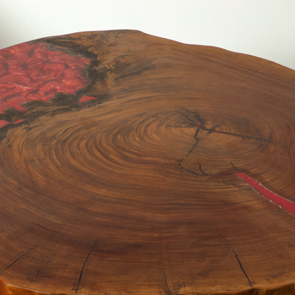 SUDAMER RESIN COFFEE TABLE