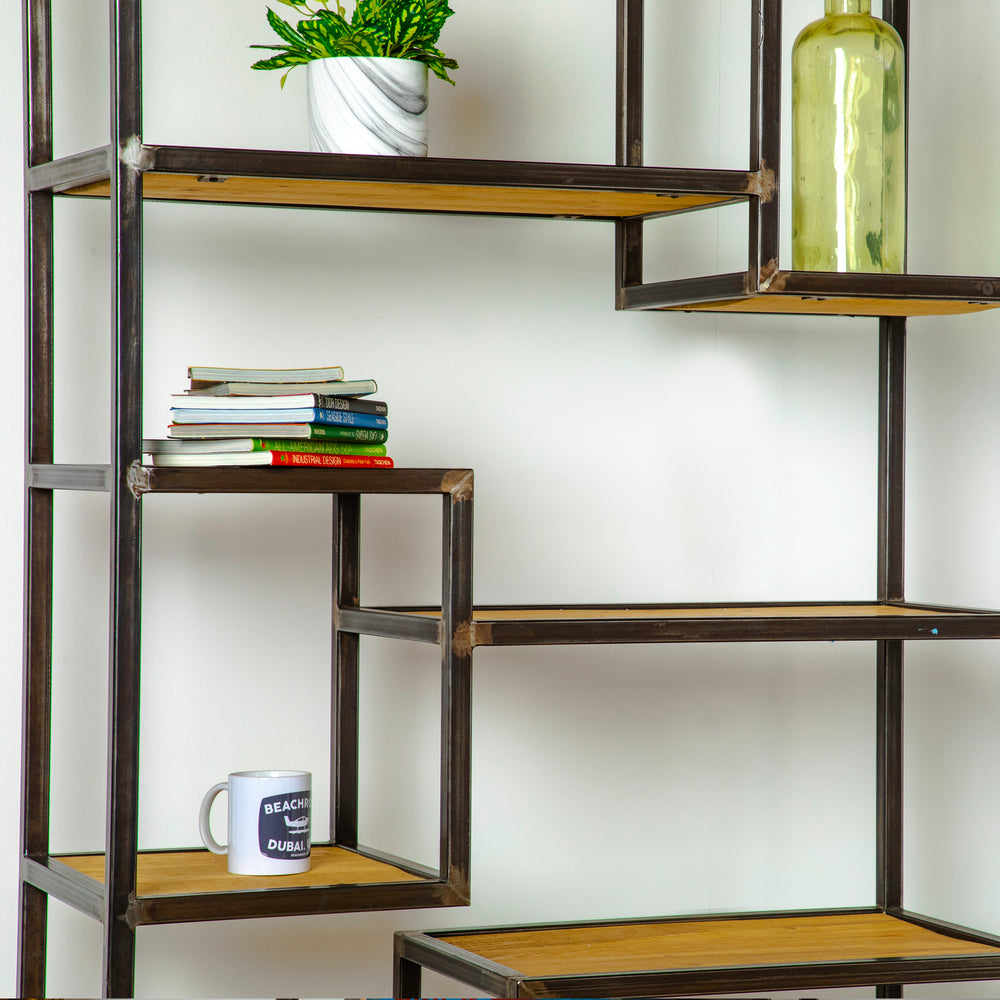 Load image into Gallery viewer, ANEMONE INDUSTRIAL BOOKSHELF