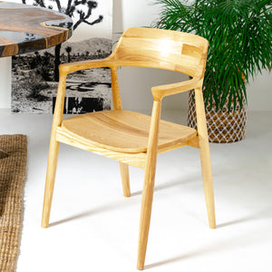 HIROSHIMA DINING CHAIR (Ash wood)