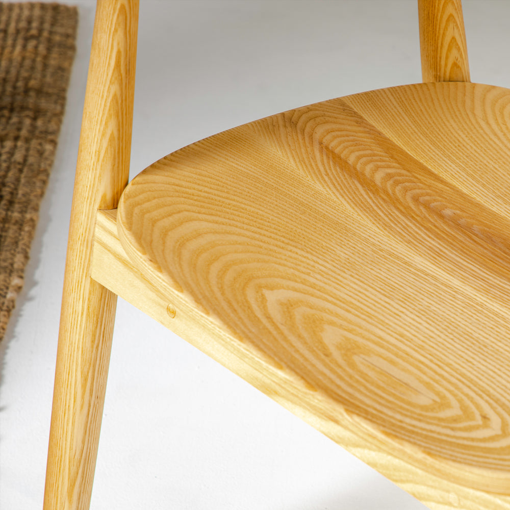 Load image into Gallery viewer, HIROSHIMA DINING CHAIR (Ash wood)