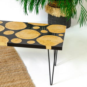 MARCON RESIN COFFEE TABLE