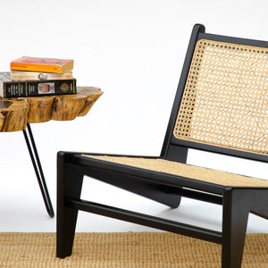 SUKHNA LOW LOUNGE CHAIR (Black)