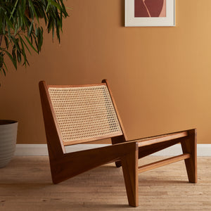 SUKHNA LOW LOUNGE CHAIR (Brown)