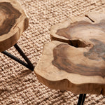 SINKOL WOODEN SIDE TABLE