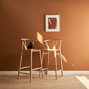 WISHBONE BAR CHAIR