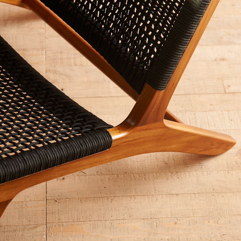FRANCIS EASY CHAIR (Black)