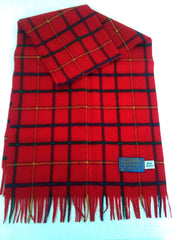 New- Pendleton Red Check Scarf