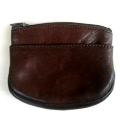 Vintage Leather Pocket Coin Pouch
