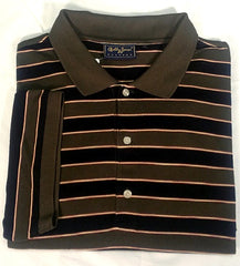 New- Bobby Jones Players Navy/ Green Polo Golf Shirt- Size XL