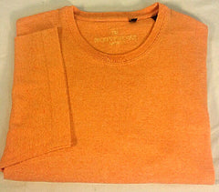 Hickey Freeman Sport (Italy)- Orange Cotton Tee Shirt- size L