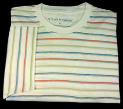 New- Tricots St.Raphael Short Sleeve Mererized Cotton Tee- size M