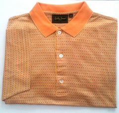 New- Bobby Jones Mini Check Polo/ Golf Shirt- Size M