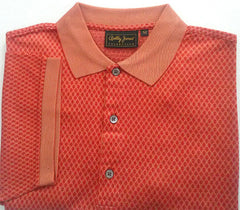New- Bobby Jones Collection- 3 Button Polo Golf Shirt- Size M