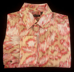 Kenneth Cole- 70's Retro- Vintage Style Shirt- Size XL