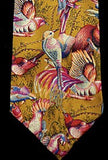 Vintage Countess Mara 'Birds of Paradise' Silk Tie