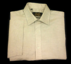 "New- 'Next"" Short Sleeve Cotton/ Linen Shirt- size 16 (41cm)"