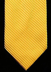 Private Stock Yellow Twill Hand-Made Silk Tie