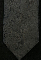 Private Stock Black Formal PaisleyTie