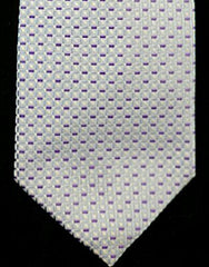 Giorgio Armani Purple Checks, Hand-Made, Silk Tie