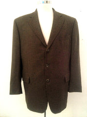 Jack Victor- Brown Multi-Color Woven Sport Coat- size 44R