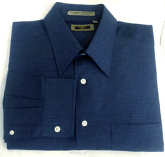 New- Joseph Abboud French Blue Dress Shirt- size 17x34/35