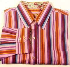 New- Brooklyn Express Pinstripe Fashion Shirt- Size XL